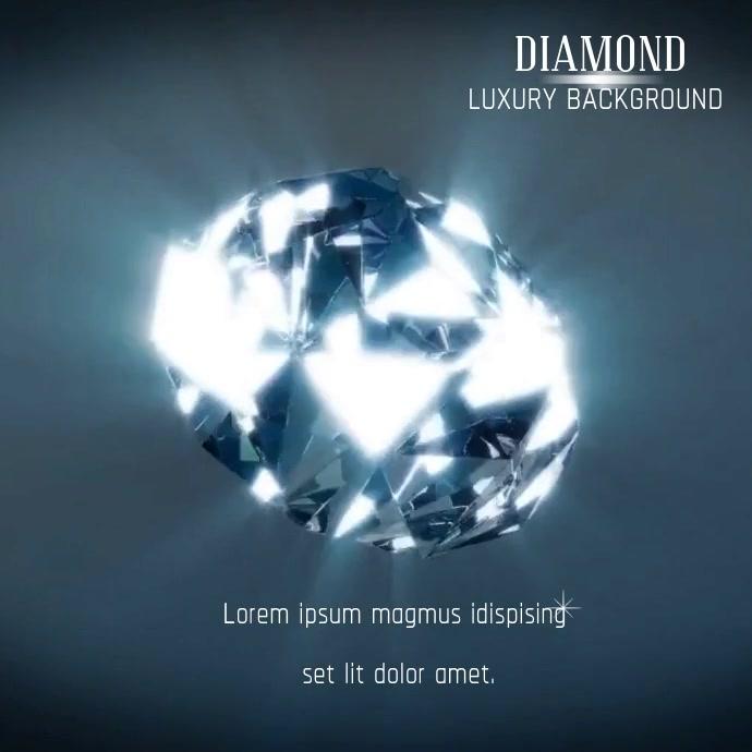 Copy of DIAMOND BACKGROUND VIDEO AD