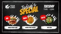 Digital Restaurant Menu Digital Displ template