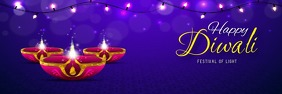 diwali poster Banner 2 x 6 template