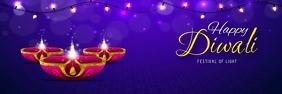 diwali poster Баннер 2 фута × 6 футов template