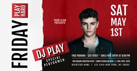Dj Flyer Template Facebook Shared Image