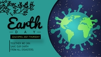 Earth day template Header Blog