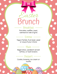 Copy of Easter Brunch Menu