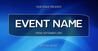 EVENT FLYER Facebook Gedeelde Prent template