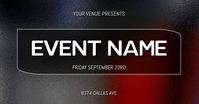 EVENT FLYER Facebook Gedeelde Prent template