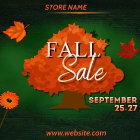 Fall Sale Video Instagram 帖子 template