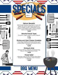 Copy of Father's Day Specials Menu flyer Temp