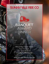 Copy of fireman banquet awards dinner flyer