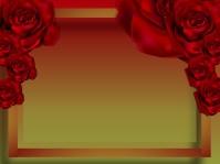 flower background, frame flower, LOVE Presentation template