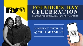 Copy of Founder's Day Celebration Flyer