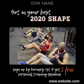 Copy of Get in Shape Video Ad