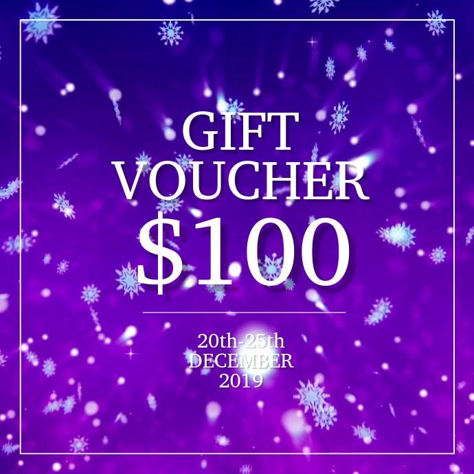 Winter Gift Voucher