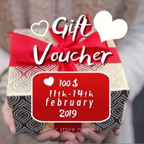 Copy of gift voucher online card