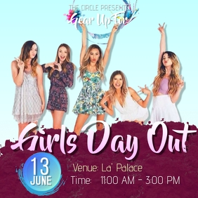 GIRLS' DAY OUT Instagram-Beitrag template