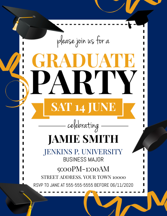 Copy of Graduate Party