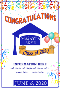 Copy of Graduation Celebration Poster