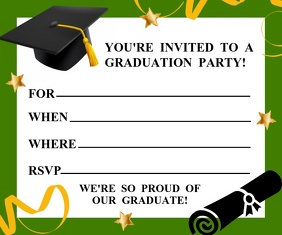 Copy of GRADUATION INVITATION