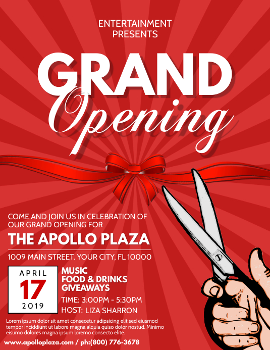Copy of Grand Opening