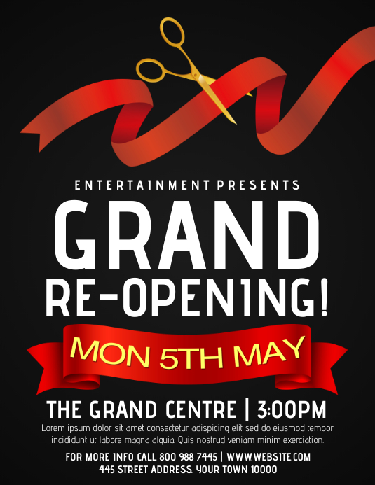 Copy of GRAND RE-OPENING