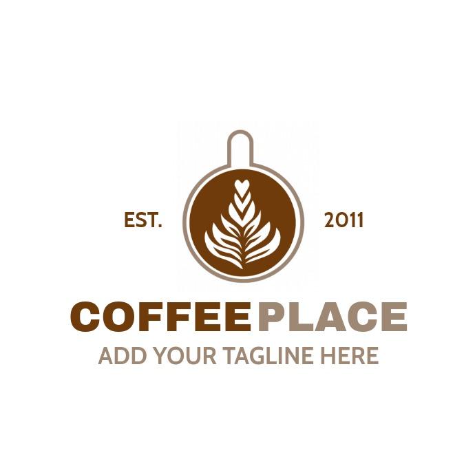 green and grey organic shop logo template