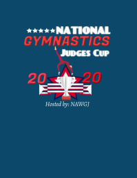 Copy of Gymnastics tshirt design
