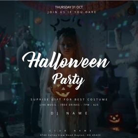 Halloween Party - Thriller Poster