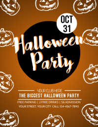 Copy of Halloween Party Template