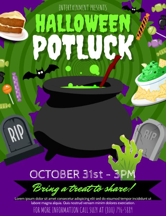 Copy of Halloween Potluck