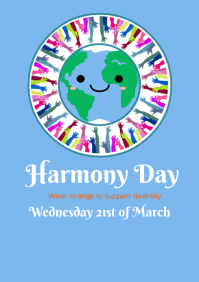 Copy of Harmony Day Poster