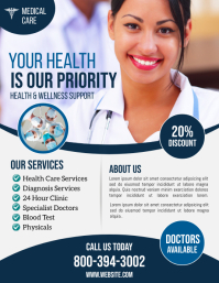 Health Flyer (US Letter) template