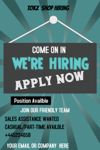 Copy of HIRING POSTERS