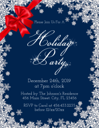 Holiday Party Iflaya (Incwadi ye-US) template