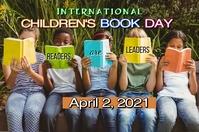 International Children's Book Day Plakkaat template