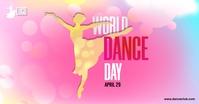 International Dance Day Template Facebook Shared Image