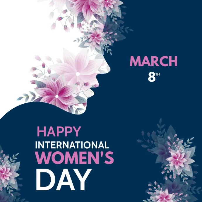 international women's Day Instagram 帖子 template