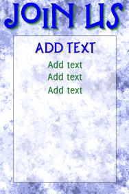Copy of Join us blue - subtle, simple & clean