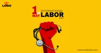 Labor Day | May Day Facebook-annonce template