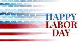 labor day Gedeelde afbeelding op Facebook template
