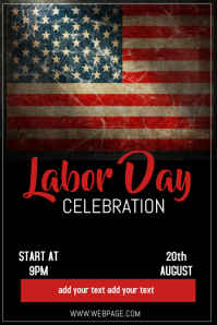 Copy of Labor day flyer template