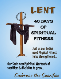 Copy of Lent Message Poster