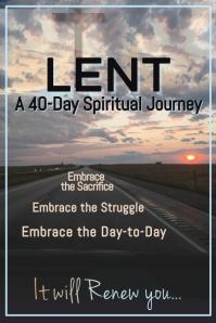 Copy of Lenten Journey Flyer Poster