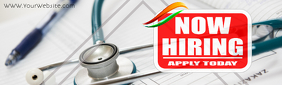 LinkedIn Cover/Profile Background/Medical India Isithombe Sesembozo se-LinkedIn template