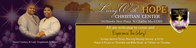 LWHCC Church Flyer Banner 2 × 8' template