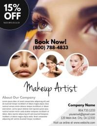 1,610+ Makeup Customizable Design Templates | PosterMyWall