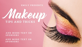 makeup Blogkop template