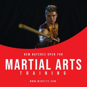 Copy of Martial arts training