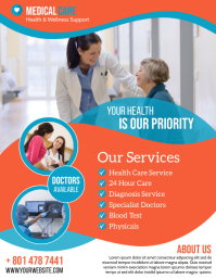 Medical Care Flyer (US Letter) template