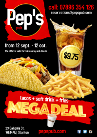 Copy of Megadeal Poster
