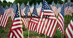 MEMORIAL DAY - FB Facebook Event Cover template
