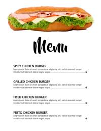Copy of menu